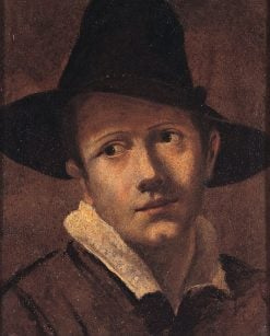 Portrait of a Young Man | Lodovico Carracci | Oil Painting