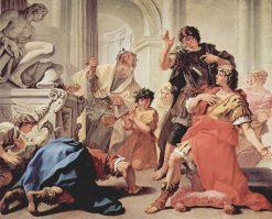 Lucius Junius Brutus | Sebastiano Ricci | Oil Painting