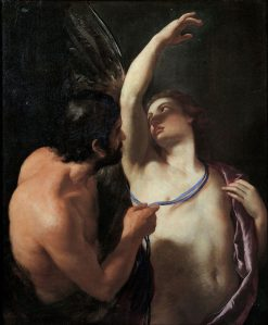Daedalus and Icarus  | Andrea Sacchi | Oil Painting
