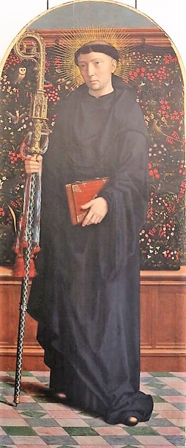 Saint Maurus Abbot | Gheeraert Gerard David | Oil Painting