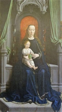 Madonna with Child (from Polyptych of Cervana) | Gheeraert Gerard David | Oil Painting