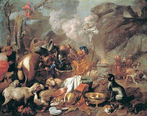 Noah's Sacrifice | Giovanni Castiglione | Oil Painting