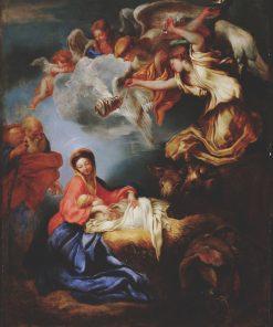 Nativity | Giovanni Castiglione | Oil Painting