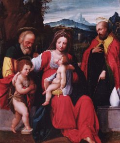 The Holy Family with Saint John | Il Garofalo | Oil Painting