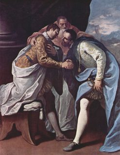 The Meeting of Popes Paul III