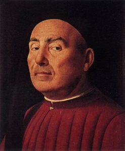 Portrait of Rittrato Trivulzio | Antonello da Messina | Oil Painting