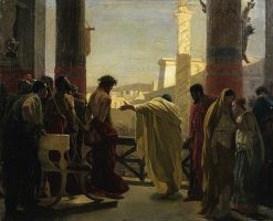 Ecce Homo (Sketch) | Antonio Ciseri | Oil Painting