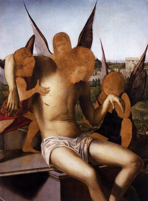 Pieta | Antonello da Messina | Oil Painting