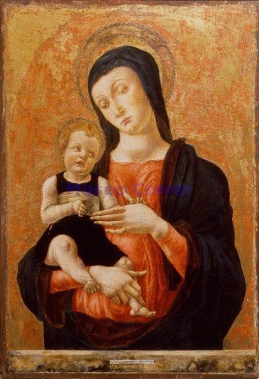 Madonna and Child | Bartolomeo Vivarini | Oil Painting