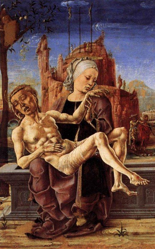 Pieta | Cosme Tura | Oil Painting