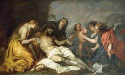 Lamentation over the Dead Christ   Anthony van Dyck   Oil Painting