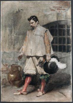 Swordsman | Eduardo Zamacois y Zabala | Oil Painting