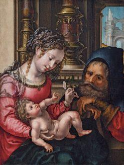 The Holy Family | Jan Gossaert | Oil Painting