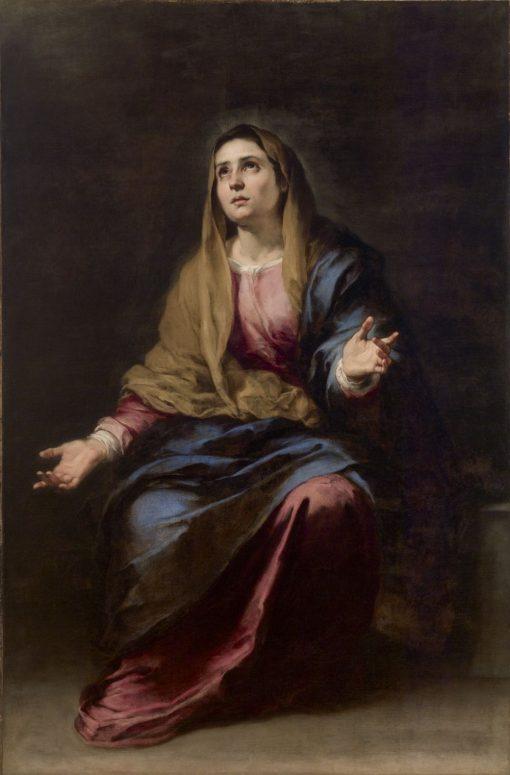 Dolorosa | BartolomE Esteban Murillo | Oil Painting
