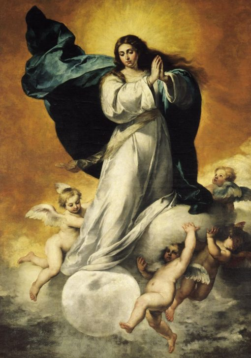Immaculate Conception | BartolomE Esteban Murillo | Oil Painting