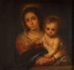 Virgin and Child | BartolomE Esteban Murillo | Oil Painting