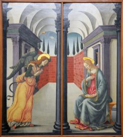 Annunciation | Francesco Botticini | Oil Painting