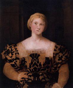 Portrait of Paola Priuli | Palma il Vecchio | Oil Painting