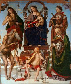 Sant'Onofrio Altarpiece | Luca Signorelli | Oil Painting