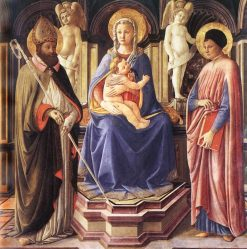 Madonna and Saints Justus and Clement | Master of the Castello Nativity | Oil Painting