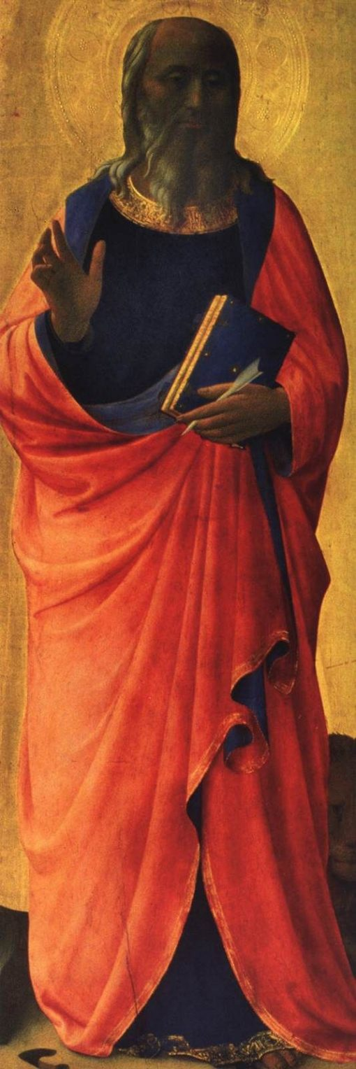 Linaioli Tabernacle: Saint John the Evangelist | Fra Angelico | Oil Painting