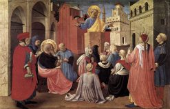 Saint Peter Preaching in the Presence of Saint Mark | Fra Angelico | Oil Painting