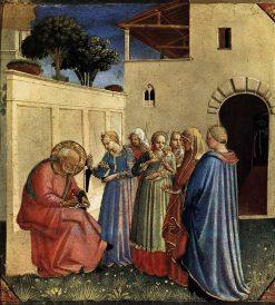 The Naming of Saint John the Baptist | Fra Angelico | Oil Painting