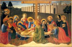 Lamentation over Christ | Fra Angelico | Oil Painting