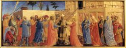 Marriage of the Virgin | Fra Angelico | Oil Painting