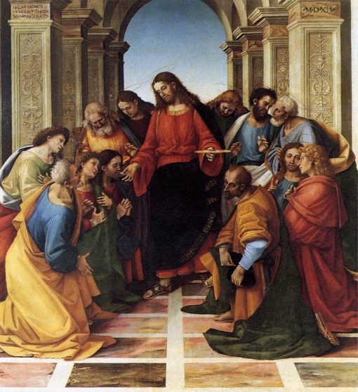 Communion of the Apostles | Luca Signorelli | Oil Painting