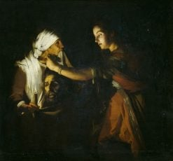 Judith with the Head of Holophernes | Adam de Coster | Oil Painting