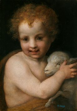 Saint John the Baptist with the Lamb | Andrea del Sarto | Oil Painting