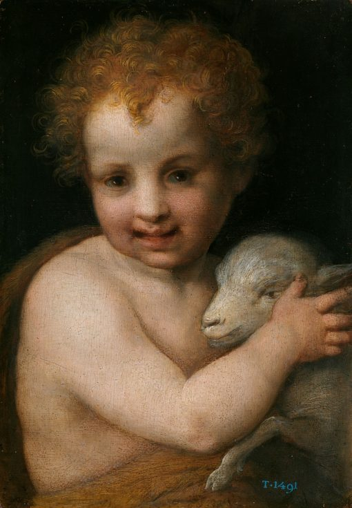 Saint John the Baptist with the Lamb | Andrea del Sarto | Oil Painting