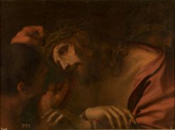 The Crowning with Thorns (after Annibale Carracci) | Andrea Sacchi | Oil Painting