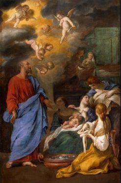 The Birth of Saint John the Baptist | Andrea Sacchi | Oil Painting