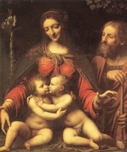 Holy Family with the Infant Saint John | Bernardino Luini | Oil Painting