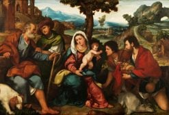 The Adoration of the Shepherds | Bonifazio Veronese | Oil Painting