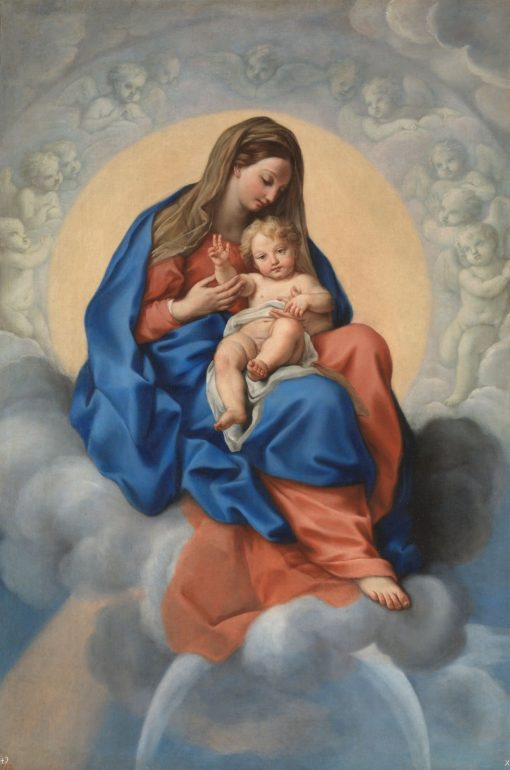 The Virgin and Child in Glory | Carlo Maratta | Oil Painting