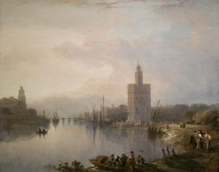 The Torre del Oro | David Roberts | Oil Painting