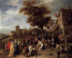 Peasants Merrymaking | David Teniers II | Oil Painting