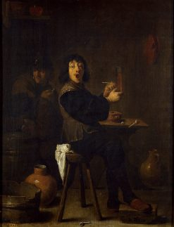 The Cheerful Soldier | David Teniers II | Oil Painting