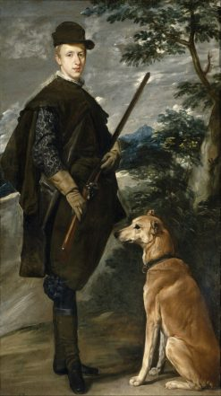 Cardinal-Infante Ferdinand of Austria | Diego Velazquez | Oil Painting