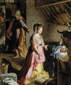 The Nativity | Federico Barocci | Oil Painting
