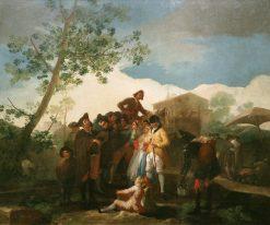 The Blind Guitar Player | Francisco de Goya y Lucientes | Oil Painting