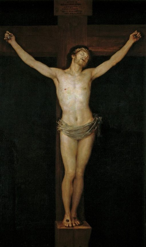 Christ Crucified | Francisco de Goya y Lucientes | Oil Painting