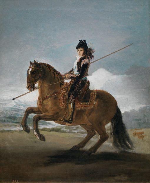A Pole Vaulter   Francisco de Goya y Lucientes   Oil Painting