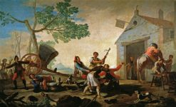 The Fight | Francisco de Goya y Lucientes | Oil Painting