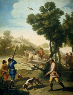 The Hunting Party | Francisco de Goya y Lucientes | Oil Painting