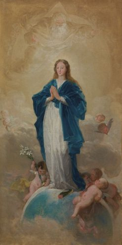 The Immaculate Conception | Francisco de Goya y Lucientes | Oil Painting