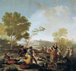 The Picnic | Francisco de Goya y Lucientes | Oil Painting